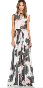 Hall dress in Brushstocks for tall girl size XS/S
